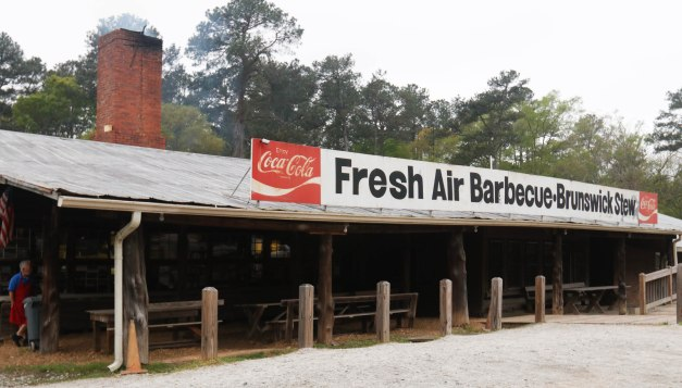 Scenes are pictured from the original Fresh Air Bar-B-Que in Jackson, Georgia. (Photo/Marlee A. Middlebrooks, mam94237@uga.edu)